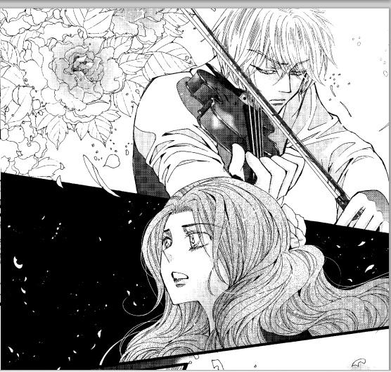 little sneak peek at the Clockwork Princess manga  coming from Yen    Will And Tessa Clockwork Princess