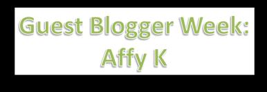 Affy guest blogging