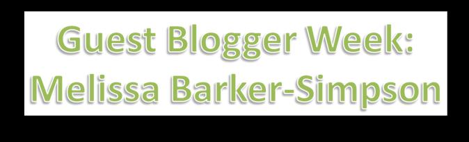 melissa guest blogging week