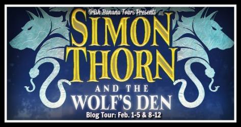 Simon Thorn Blog Tour Banner