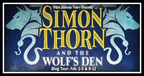 Simon Thorn Blog Tour Banner