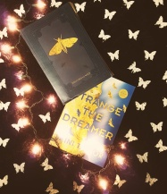 Strange The Dreamer ARC, wrap and moths