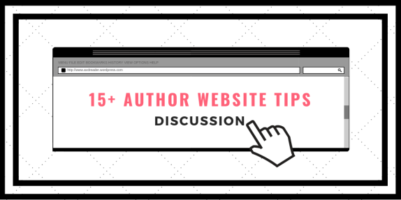 15+ Author Website Tips