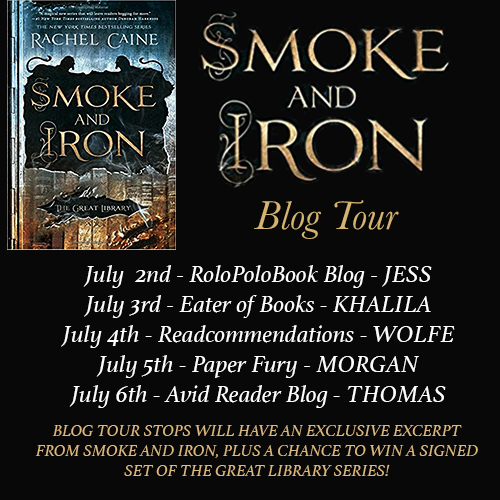 Smoke and Iron blog tour