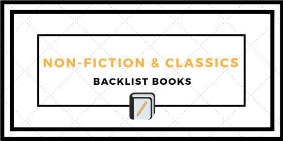 Backlist Books - Non Fiction and Classics
