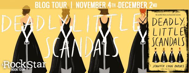 Deadly Little Scandals Blog Tour